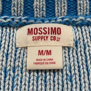 Mossimo Supply Co. Sweaters - Mossimo Blue Cable Knit Sweater